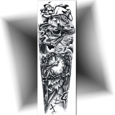 Manchette bras entier tatouage ph m re mikiti - Tatouage bras homme entier ...