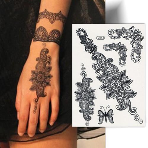 tatouage dentelle papillon tatouage ph m re tatouage temporaire. Black Bedroom Furniture Sets. Home Design Ideas