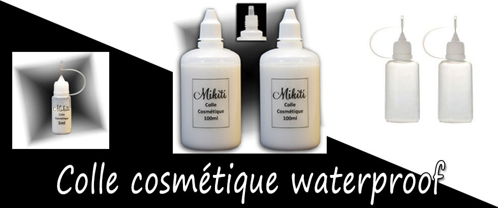Colle tatouage paillette, colle waterproof pour le corps, Mikiti