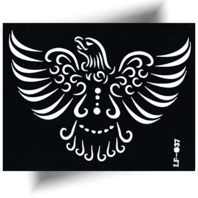 pochoir adhésif aigle