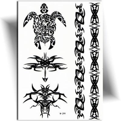 Tatouage provisoire Maori