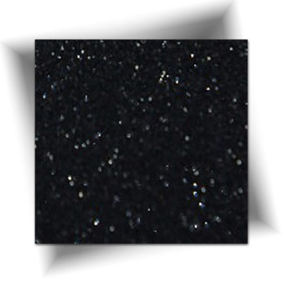 Paillette cosmétique noir 50 gr