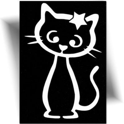 Pochoir adhésif roi des chats