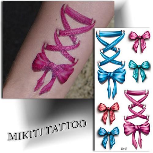 Tatouage éphémère réaliste, tattoo femme, Mikiti