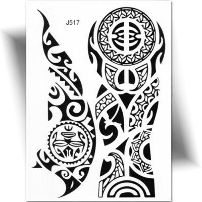 maori polyn sien tatouage ph m re tatouage temporaire. Black Bedroom Furniture Sets. Home Design Ideas