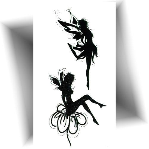 Mini tatouage éphémère fée