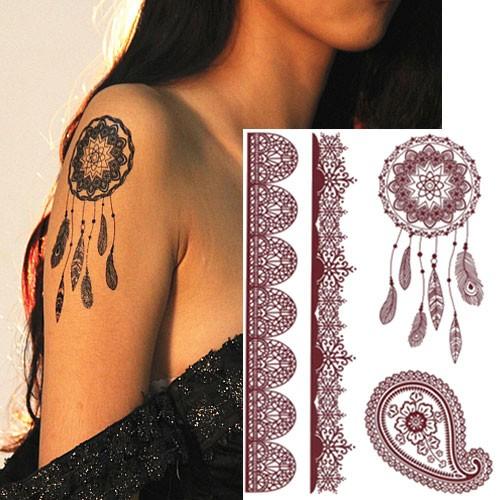 Tatouage-effet-henné