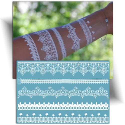 Tatouage temporaire bracelets