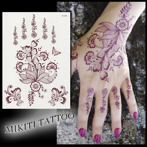 tatouage temporaire main ~ tatouage éphémère mikiti