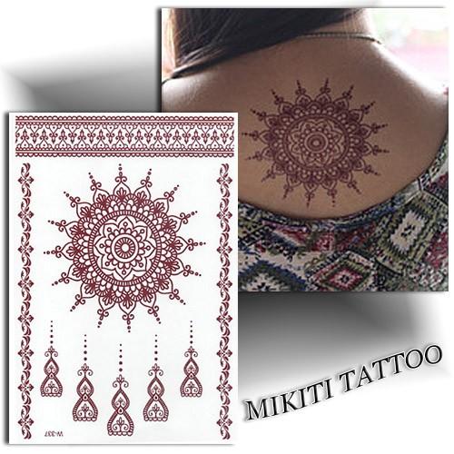 tatouage temporaire mandala tatouage ph m re mikiti. Black Bedroom Furniture Sets. Home Design Ideas