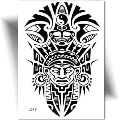 Tatouage temporaire Maori