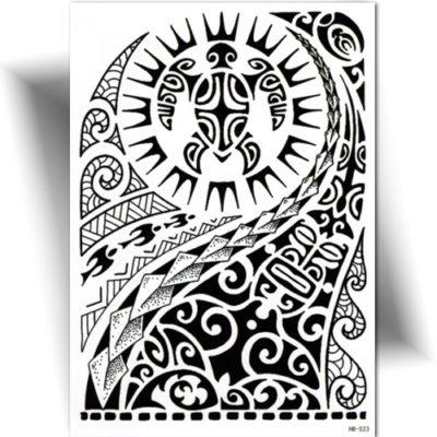 Tatouage temporaire Polynésien