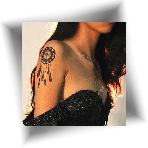 Tattoo-provisoire-attrape-rêve
