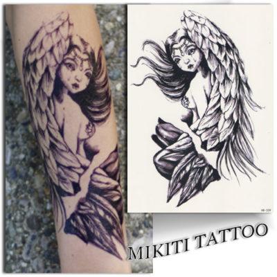 Tatouage temporaire ange