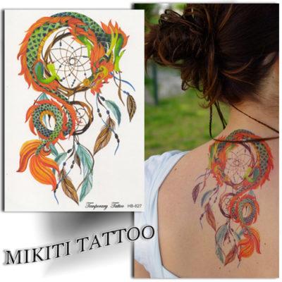 tatouage attrape r ve tatouage ph m re mikiti. Black Bedroom Furniture Sets. Home Design Ideas