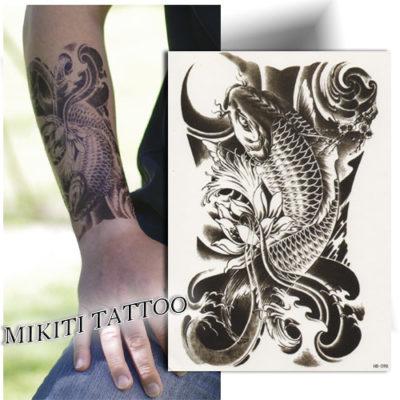 Grand tatouage temporaire