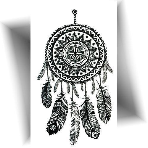 Mini tatouage capteur rêve