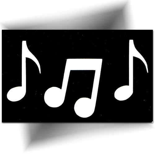 Pochoir Note De Musique Tatouage Temporaire Large Choix Ultra