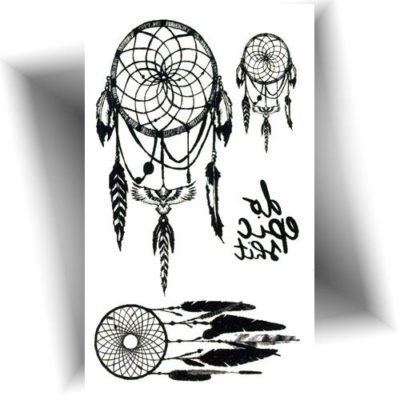 Mini tatouage dreamcatcher
