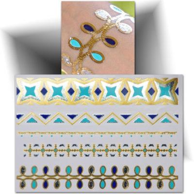 Tatouage temporaire bracelet phosphorescent