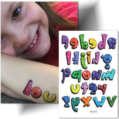 tatouage temporaire enfant