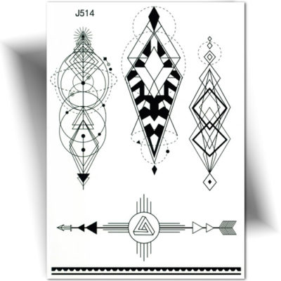 Tatouage Geometrique Archives Tatouage Ephemere Mikiti