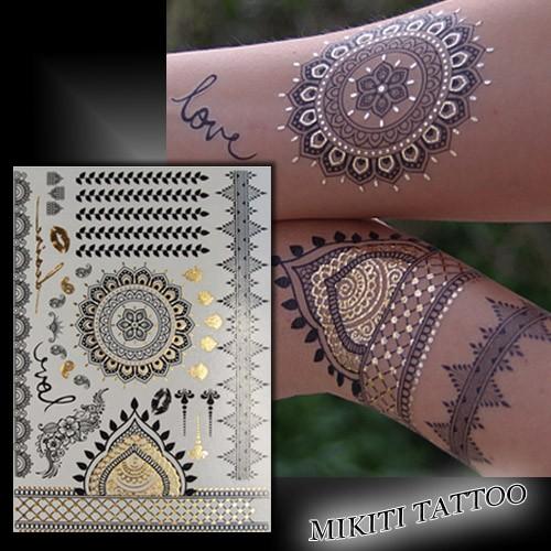 Tatouage éphémère oriental