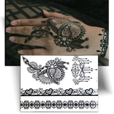 Tatouage Metallique Love Tatouage Ephemere Mikiti