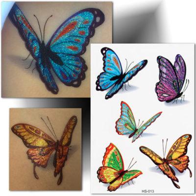 Tatouage temporaire papillon
