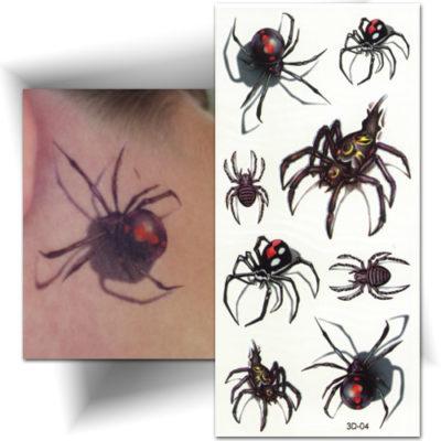 Tattoo 3D araignée