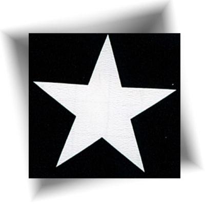 Pochoir adhésif étoile