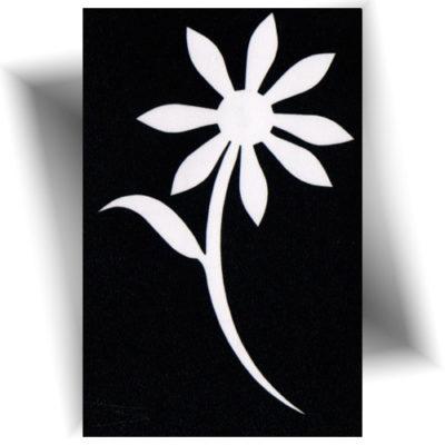 pochoir adhesif floral