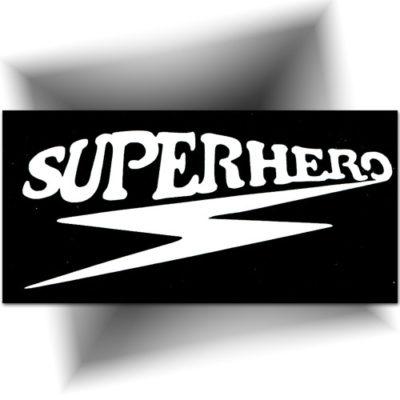 Pochoir adhésif super héros tatouage temporaire