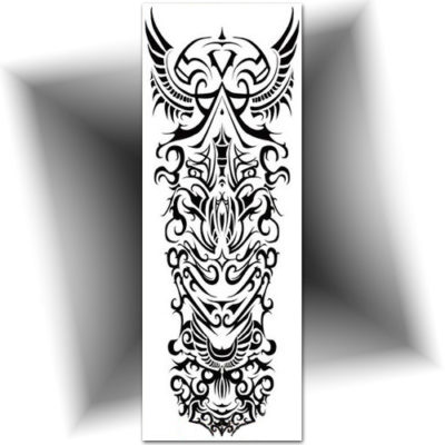 Tatouage manchette tribal