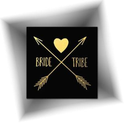 Faux tatouage mariage métallique doré