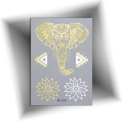 Petit tatouage éléphant