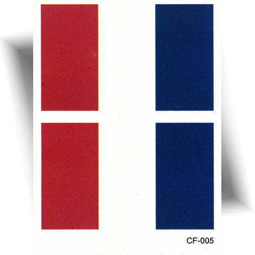 Tatouage éphémère drapeau France