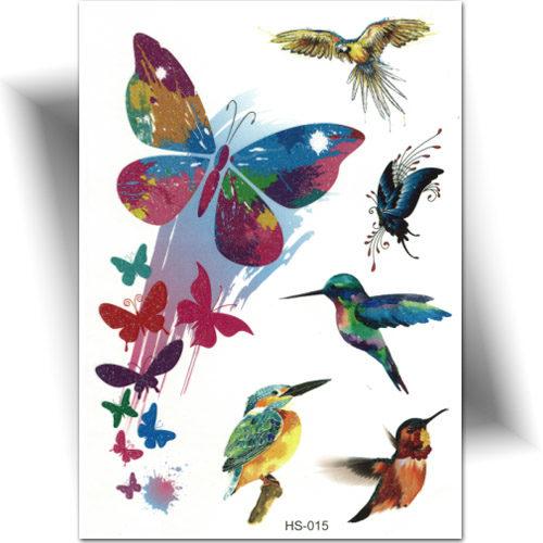 Tatouage éphémère papillon