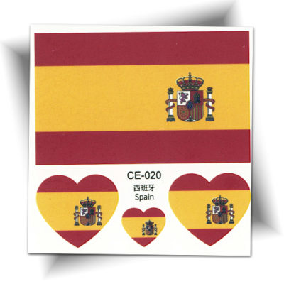 Tatouage temporaire Espagne