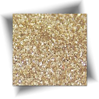 Paillette cosmétique or clair 50 gr