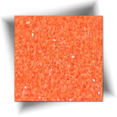 Paillette cosmétique orange fluorescent 50 gr