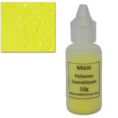 Paillette jaune fluorescent 10 gr