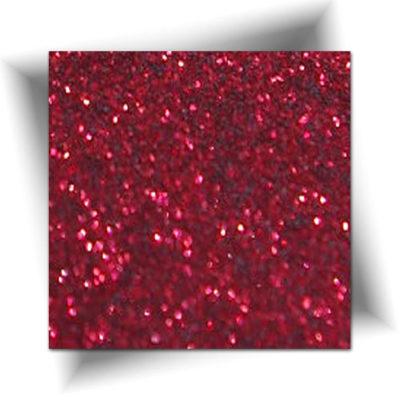 Paillette cosmétique rouge