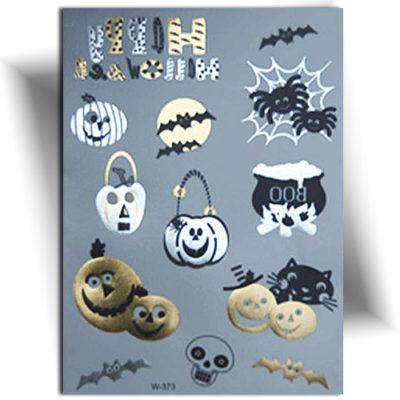 Tatouage métallique Halloween