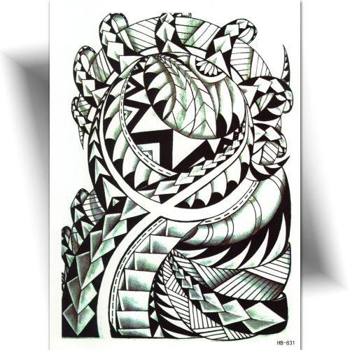 Tatouage bras Maori