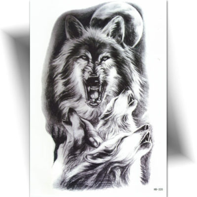Tatouage wolves night