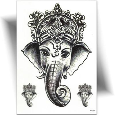 Tatouage temporaire Ganesh