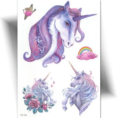 Tatouage féerique Licorne