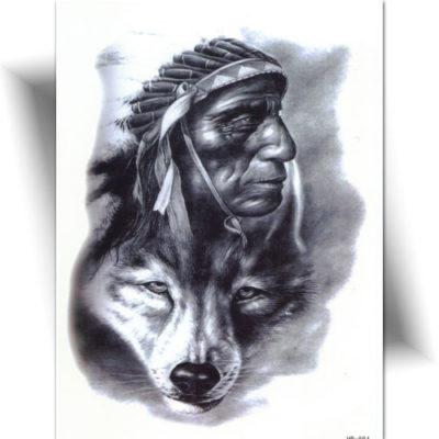 Tatouage Esprit indien