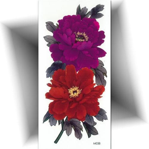 Tatouage double fleurs